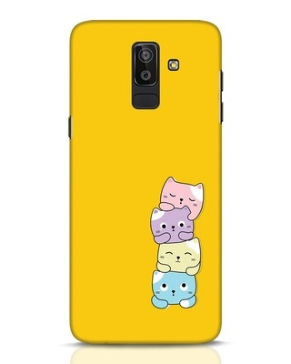 Shop Kitty Cats Samsung Galaxy J8 Mobile Cover-Front