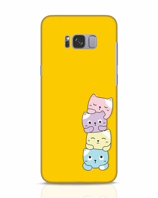 Shop Kitty Cats Samsung Galaxy S8 Mobile Cover-Front