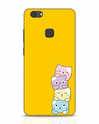 Shop Kitty Cats Vivo V7 Plus Mobile Cover-Front