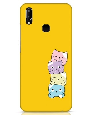 Shop Kitty Cats Vivo Y91 Mobile Cover-Front