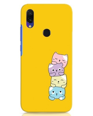 Shop Kitty Cats Xiaomi Redmi 7 Mobile Cover-Front