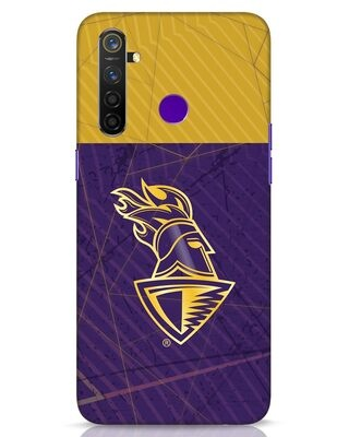Shop Kkr Color Block Realme 5 Pro Mobile Cover-Front