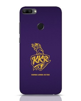 Shop Kkr Logo Gradient Huawei Honor 9N Mobile Cover-Front