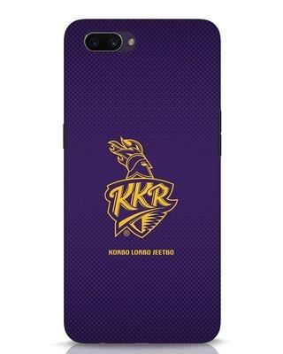 Shop Kkr Logo Gradient Oppo A3S Mobile Cover-Front