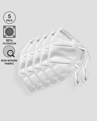Shop KN95 Face Mask Pack of 5-Front