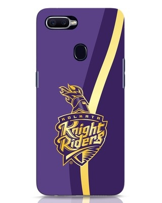 Shop Knight Riders Gradient Oppo F9 Pro Mobile Cover-Front