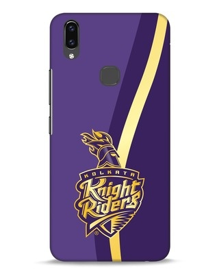Shop Knight Riders Gradient Vivo V9 Mobile Cover-Front