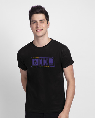 Shop Knights Of Eden Half Sleeve T-Shirt-Front