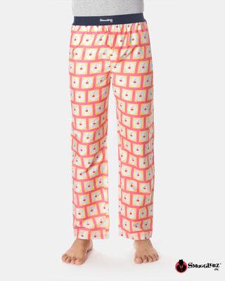 Shop Smugglerz Lady & Wine Pyjamas Pink-Front