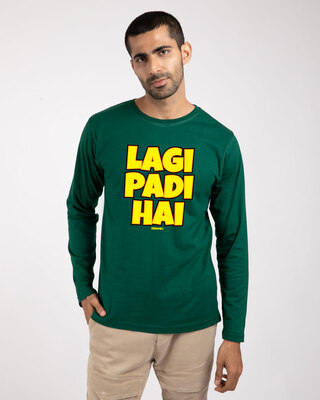 Shop Lagi Padi Hai Full Sleeve T-Shirt-Front
