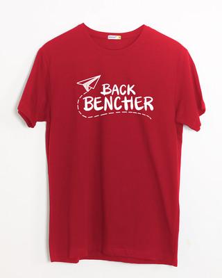 Shop Last Bencher Half Sleeve T-Shirt-Front
