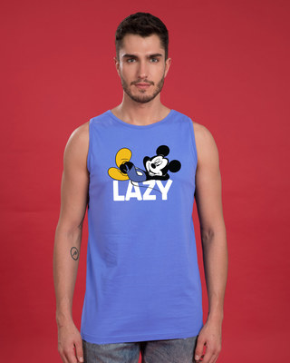 Shop Lazy Mickey Vest (DL)-Front