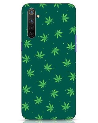 Shop Leaf Pattern Realme 6 Pro Mobile Cover-Front
