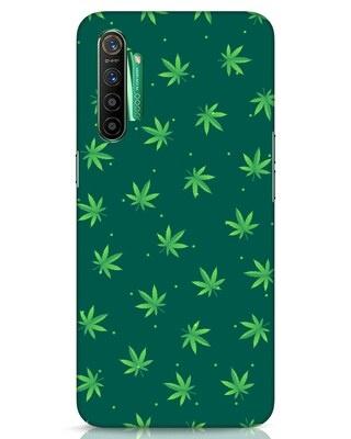 Shop Leaf Pattern Realme X2 Mobile Cover-Front