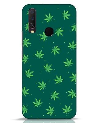 Shop Leaf Pattern Vivo Y17 Mobile Cover-Front