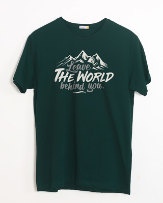 Buy Leave The World Half Sleeve T-Shirt Online India @ Bewakoof.com