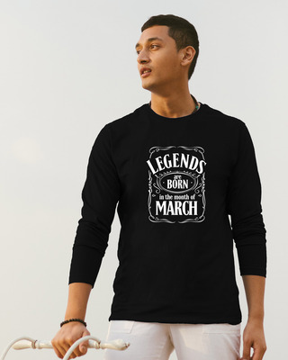 Shop Legend Daniels March Full Sleeve T-Shirt-Front