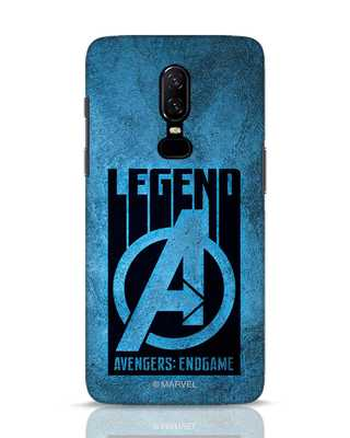 Shop Legend OnePlus 6 Mobile Cover (AVL)-Front