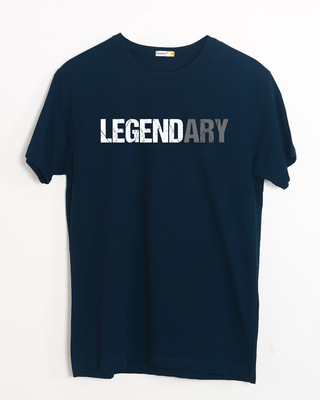 Shop Legend_ary Half Sleeve T-Shirt-Front