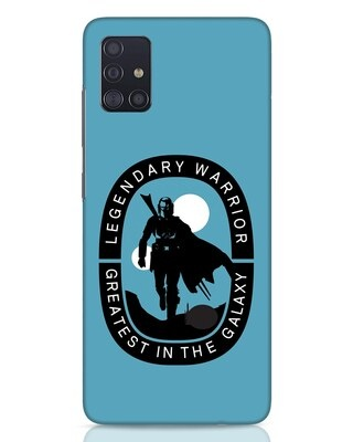 Shop Legendary Warrior Samsung Galaxy A51 Mobile Cover-Front