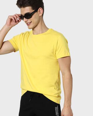 Shop Lemon Drop Half Sleeve T-Shirt-Front