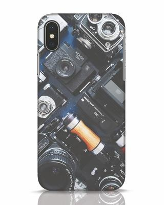 Shop Lenses iPhone X Mobile Cover-Front