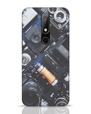 Shop Lenses Nokia 6.1 Plus Mobile Cover-Front