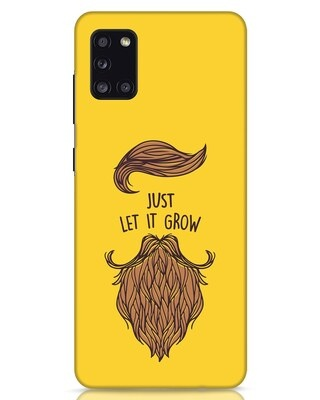 Shop Let It Grow Samsung Galaxy A31 Mobile Cover-Front