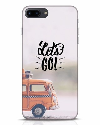 Shop Let's Go iPhone 7 Plus Mobile Cover-Front