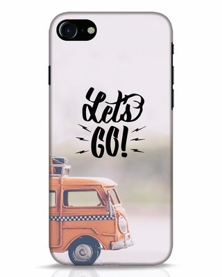 Shop Let's Go iPhone 8 Mobile Cover-Front