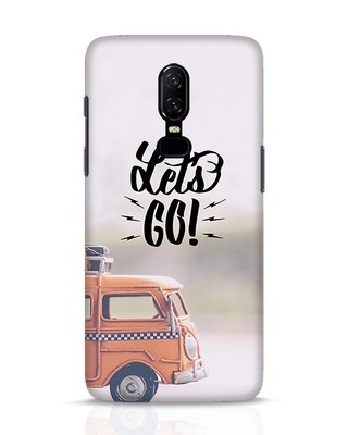 Shop Let's Go OnePlus 6 Mobile Cover-Front
