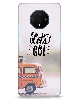 Shop Let's Go OnePlus 7T Mobile Cover-Front