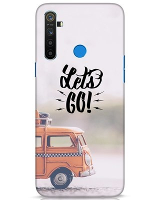 Shop Let's Go Realme 5 Mobile Cover-Front