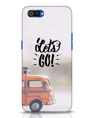 Shop Let's Go Realme C2 Mobile Cover-Front