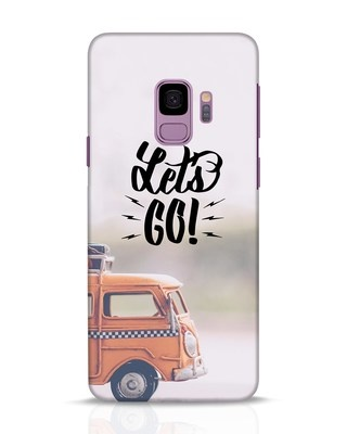 Shop Let's Go Samsung Galaxy S9 Mobile Cover-Front