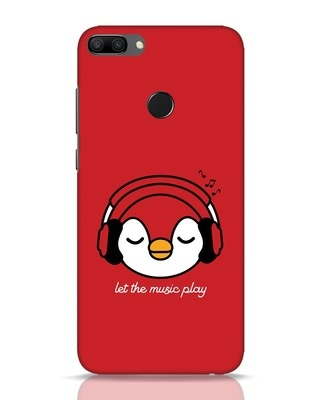 Shop Let The Music Play Huawei Honor 9N Mobile Cover-Front