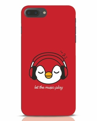 Shop Let The Music Play iPhone 7 Mobile Cover-Front