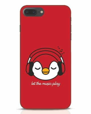 Shop Let The Music Play iPhone 7 Plus Mobile Cover-Front