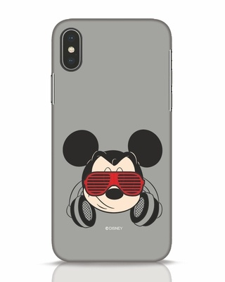Shop Let The Music Play iPhone X Mobile Cover (DL)-Front