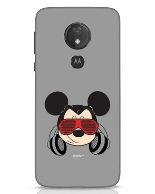 Shop Let The Music Play Moto G7 Power Mobile Cover (DL)-Front