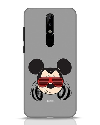 Shop Let The Music Play Nokia 5.1 Plus Mobile Cover (DL)-Front