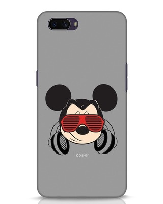 Shop Let The Music Play Oppo A3S Mobile Cover (DL)-Front