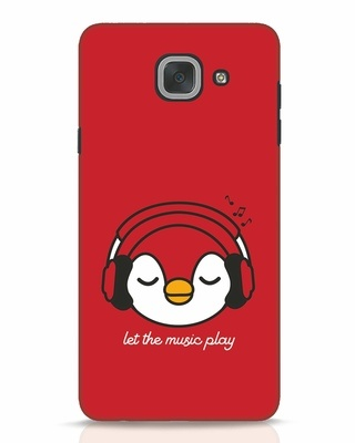 Shop Let The Music Play Samsung Galaxy J7 Max Mobile Cover-Front