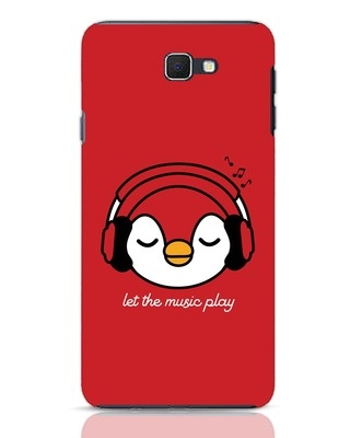 Shop Let The Music Play Samsung Galaxy J7 Prime Mobile Cover-Front