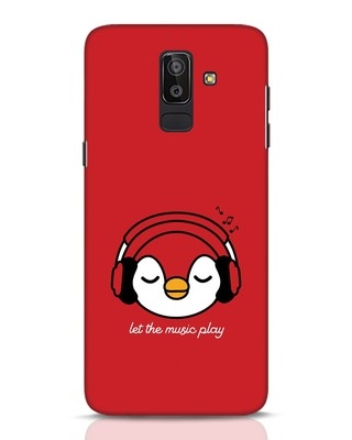 Shop Let The Music Play Samsung Galaxy J8 Mobile Cover-Front