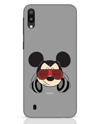 Shop Let The Music Play Samsung Galaxy M10 Mobile Cover (DL)-Front