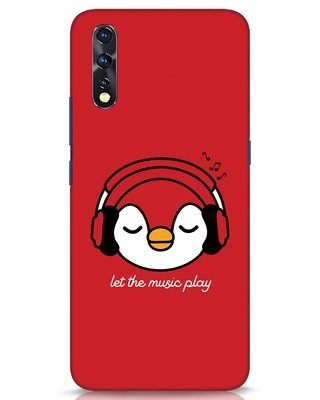 Shop Let The Music Play Vivo Z1x Mobile Cover-Front