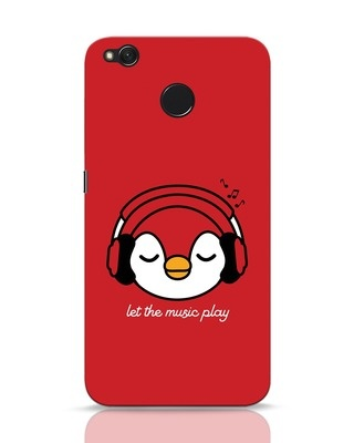 Shop Let The Music Play Xiaomi Redmi 4 Mobile Cover-Front