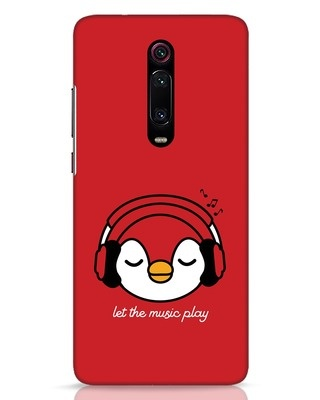 Shop Let The Music Play Xiaomi Redmi K20 Pro Mobile Cover-Front