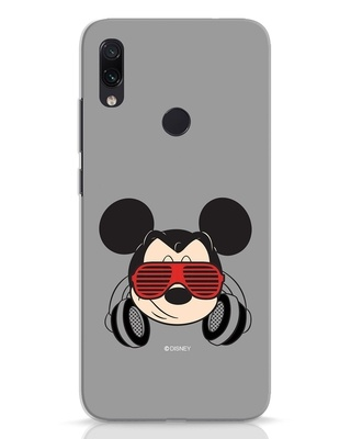 Shop Let The Music Play Xiaomi Redmi Note 7 Mobile Cover (DL)-Front